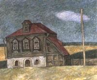 une demeure au village borodino by v. basmanov