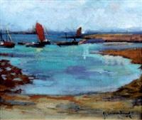 paysage breton by jean julien lemordant