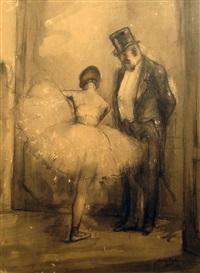 dans les coulisses de l'opéra by charles emmanuel jodelet