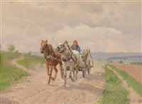 am heimweg by hermann reisz