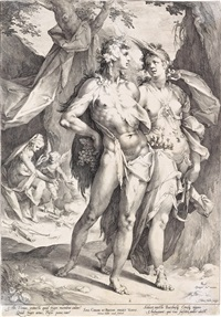 bacchus, ceres and venus by jan harmensz muller