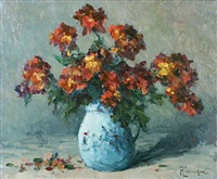 fleurs de giroflées by narcisse henocque