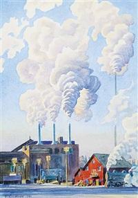 smoke pattern by ernest lindner