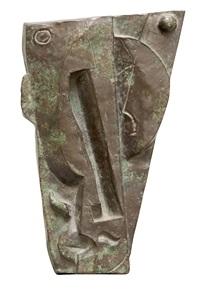 hlava - reliéf by otto gutfreund