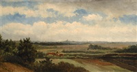 landscape by johannes joseph destree