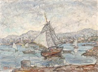 view of keratsini, piraeus by michalis kandylis
