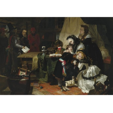 the last parting of marie antoinette and her son by edward matthew ward