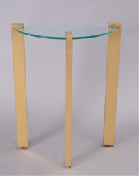 console table by karl springer