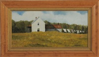 new england farmhouse by marieluise hutchinson