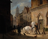 bridling the horse by jan hendrik verheyen