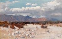 western landscape by elmer wachtel