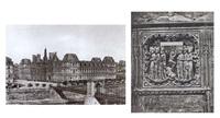 excursions daguerriennes - vues et monuments les plus remarquables du globe (bk in 2 vols w/112 works & text, folio) by noel-marie lerebours