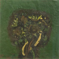 composition in green by ennio morlotti