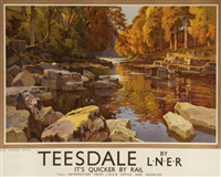teesdale, lner by ernest william haslehurst