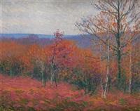 sous bois en automne by charles frechon
