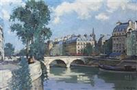 le pont saint-michel by constantine kluge