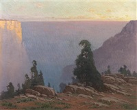 the grand canyon by frank charles peyraud