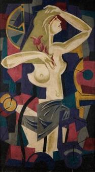 portret kobiety by tadeusz gronowski