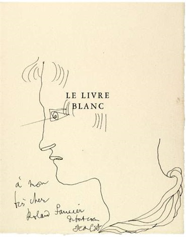 Le Livre Blanc Bk W18 Works By Jean Cocteau On Artnet