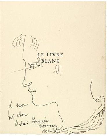 Le Livre Blanc Bk W18 Works By Jean Cocteau On Artnet