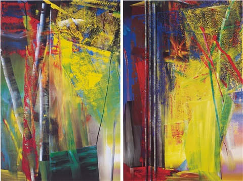 victoria i ii 2 works by gerhard richter