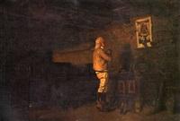 la prière à la vierge by louis eugène leroux