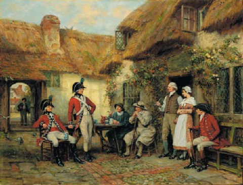 the kings arms by frank moss bennett