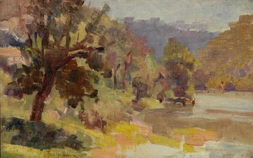 yarra river view by thomas tom humphrey
