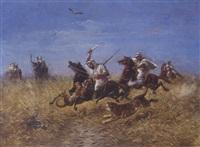 la chasse au tigre by m. müller
