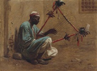 the kissar player by frederick goodall