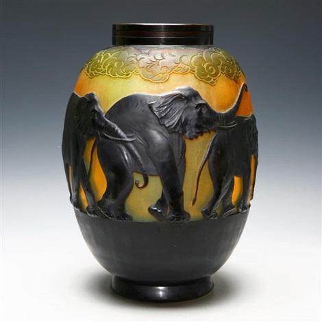 Elephant Vase By Mile Gall On Artnet