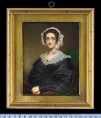 mrs simcox lee, née lavinia anne tarbutt by william john (sir) newton
