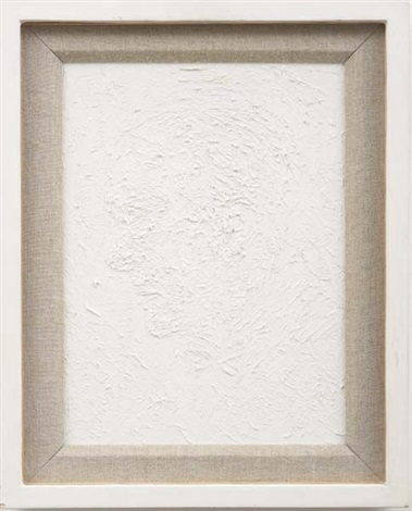 white abstract - noel coward by keith coventry