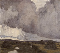 a western landscape by paul henry