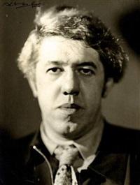 portrait de l'acteur michel simon by alban