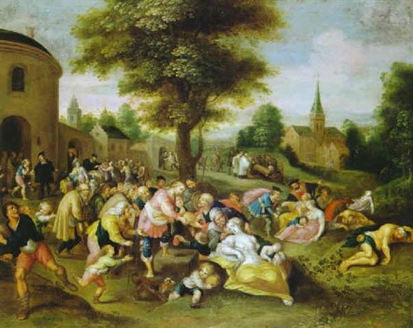 las obras de misericordia by hieronymus francken iii