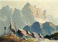 rocky alps by georg arnold
