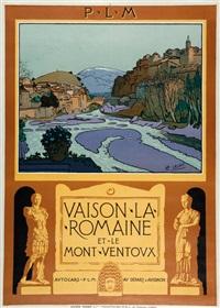 vaison la romaine et le mont ventoux by léo lelee