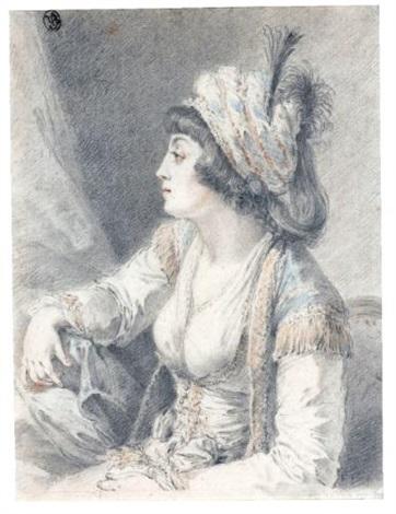 the valide the sultans mother by augustin de saint aubin