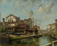 a venetian boatyard by james campbell noble