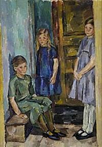 tre flickor by birger simonsson