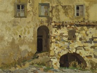 l'antica casa dal muro di pietra by llewelyn lloyd