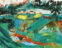 landscape with farm no.1 by john de burgh perceval