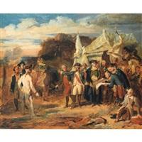 la prise de yorktown by louis-charles-auguste couder