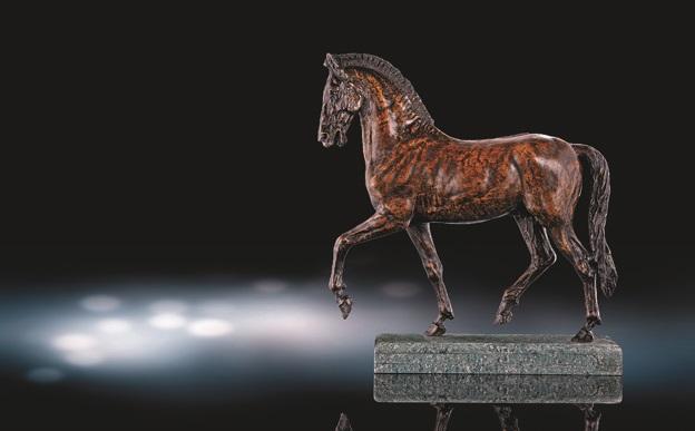 古代馬 (the horse) by leonardo da vinci