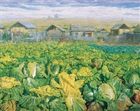 大白菜系列——家园 (chinese cabbage series-home) by xue zhiguo