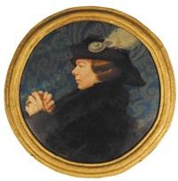 kobieta w kapeluszu by michal borucinski