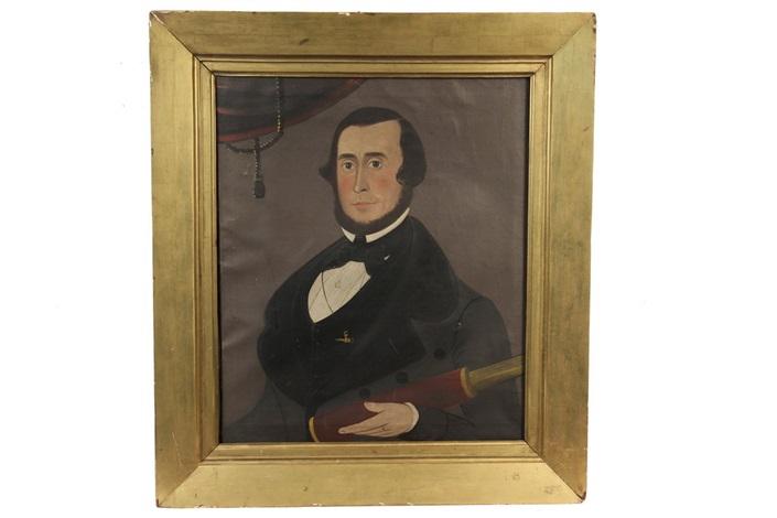 portrait of captain rufus s. fales by american school-prior-hamblen (19)