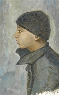 portrait of a boy by yury pen