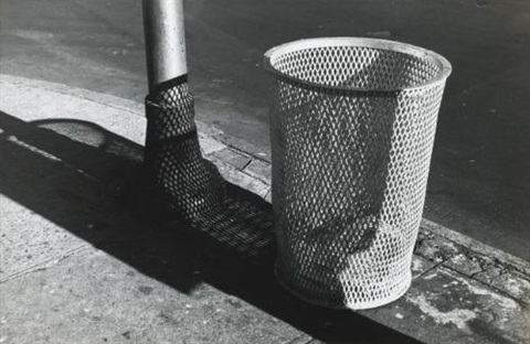 grate with trash by walker evans